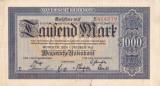 Bancnota Germania ( Bayern ) 1.000 Marci 1922 - PS924 XF