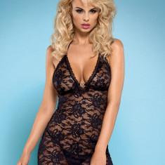 Chemise și Chiloţi Catia Obsessive, Marime: L/XL, S/M, Culoare: Negru