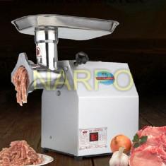 Masina tocat carne electrica profesionala 800W 150 Kg / ora REDUCTOR cu ULEI - Masina de Tocat Carne
