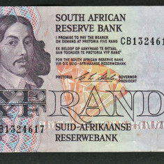 Africa de Sud 5 Rand C.L.Stals [5] 1990-94 119e - bancnota africa