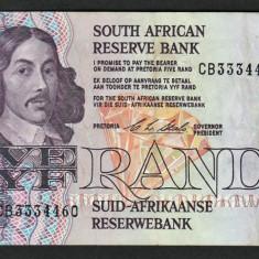 Africa de Sud 5 Rand C.L.Stals [4] 1990-94 119e - bancnota africa