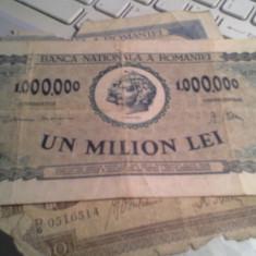 1000000 LEI 1947 +CADOU 500,5000 ,100000 LEI DEFECTE/298