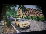 Carte postala veche,GOVORA,Vedere Autoturism DACIA 1100,de COLECTIE,,T.GRATUIT