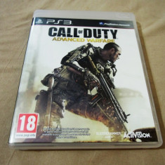 Joc Call of Duty Advanced Warfare, PS3, original, alte sute de jocuri! - Jocuri PS3 Activision, Shooting, 18+, Single player
