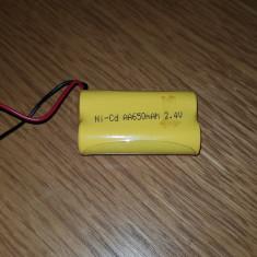 Baterie acumulator Ni-Cd AA 650 Mah 2.4V