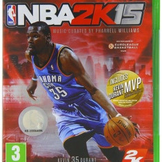NBA 2K15 - XBOX ONE [Second hand] - Jocuri Xbox One, Sporturi, 3+, Multiplayer