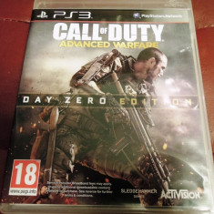 Joc Call of Duty Advanced Warfare, PS3, original, alte sute de jocuri! - Jocuri PS3 Activision, Shooting, 18+, Single player