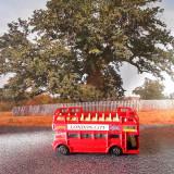 Macheta autobuz londonez, 1:50