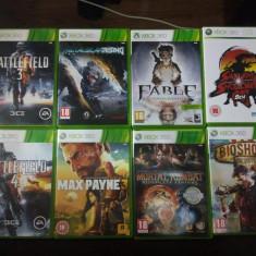 Xbox 360 Microsoft 500GB+21 JOCURI SI 2 MANETE