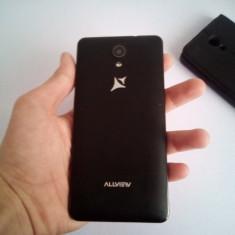 Tefefon Allview c6 duo+ husă - Telefon Allview, Negru, 8GB, Vodafone, Dual core, 1 GB