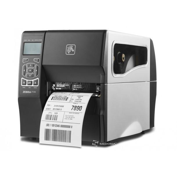 Imprimanta de etichete Zebra ZT230 (Accesorii incluse - Peeler) foto mare