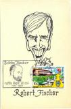 CP Z1137 - ROBERT FISCHER(BOBBY FISCHER) -CELEBRUL SAHIST-1992 - NECIRCULATA