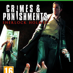 Crimes and Punishments - Sherlock Holmes - XBOX ONE [Second hand] - Jocuri Xbox One, Actiune, 16+, Multiplayer