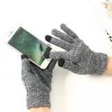 Manusi PremiumGloves TouchScreen Gri (telefoane, tablete, touchscreen)