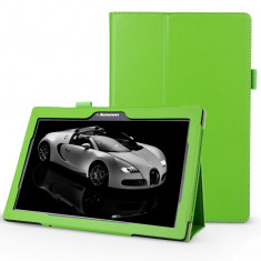 Husa Premium Book pentru tableta Lenovo Tab 2 A10-30, 10, green - Husa Tableta