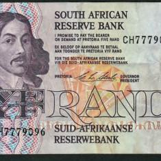 Africa de Sud 5 Rand C.L.Stals [2] 1990-94 119e - bancnota africa