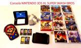 Consola Nintendo 3DS XL SUPER SMASH BROS + 12 jocuri + 5 carduri Nintendo