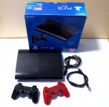 Consola Sony Playstation 3 Super Slim, 500GB + 38 jocuri, PS3