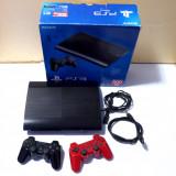 Consola Sony Playstation 3 Super Slim, 500GB + 38 jocuri, PS3