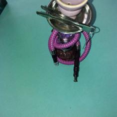 Narghilea un fum +carbuni si tutun