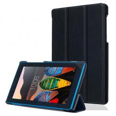 Husa Premium Slim pentru tableta Lenovo IdeaTab 2 A8-50, 8 inch, Black - Husa Tableta