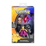 Pokemon: Mega Mawile, Mega Sableye, Hoopa, Set 3 figurine articulate, Tomy