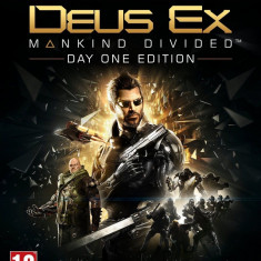 Deus Ex Mankind Divided - Day One EDITION - XBOX ONE [Second hand] - Jocuri Xbox One, Role playing, 16+, Single player