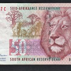 Africa de Sud 50 Rand ND(1992) P#125c - bancnota africa