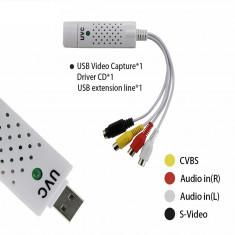 Placa de captura UVC EasyCap Android Smartphone placa captura Easy cap Audio - Placa de captura PC
