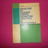 C. Udriste - Probleme De Algebra Liniara, Geometrie Analitica Si Diferentiala - Carte Matematica