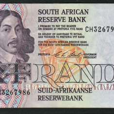 Africa de Sud 5 Rand C.L.Stals [3] 1990-94 119e - bancnota africa