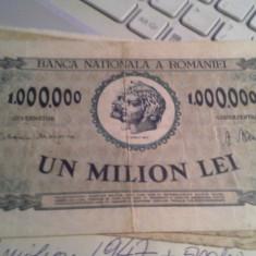 1000000 LEI 1947 +CADOU 500, 5000, LEI DEFECTE/1187 - Bancnota romaneasca