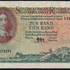 Africa de Sud 10 Rand 1961 106a - bancnota africa
