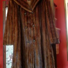 Haină blană nurcă - haina de blana