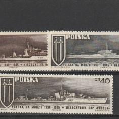 Marina militara ,Polonia., Nestampilat