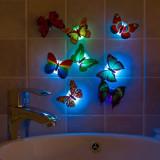 Fluture Lampa Colorat Luminoasa Lampa Decorativa Stickere LED