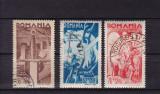 ROMANIA 1943 , LP 154 I ,  CONSILIUL DE PATRONAJ SERIE STAMPILATA, Stampilat