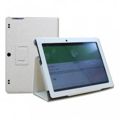 Husa Premium Book pentru tableta Lenovo Tab 2 A10-30, 10, white - Husa Tableta