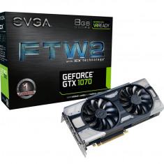 Placa video EVGA GeForce GTX 1070 FTW2 GAMING 8GB GDDR5 iCX 9 Sensors & RGB LED - Placa video PC Evga, nVidia