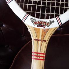 Racheta tenis vintage DUNLOP MAXPLY - Racheta tenis de camp Dunlop, Adulti