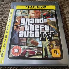 Joc GTA IV, Grand Theft Auto 4, PS3, original! Alte sute de jocuri! - Jocuri PS3 Rockstar Games, Actiune, 18+, Single player