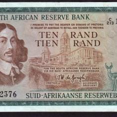 Africa de Sud 10 Rand 1966-76 113C - bancnota africa