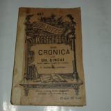 DIN CRONICA LUI GH.SINCAI B.P.T. nr.697 Ed.veche. - Carte veche