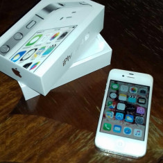 iPhone 4s Apple, alb, 8gb, Vodafone
