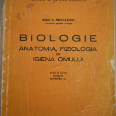 RWX 45 - BIOLOGIE - ANATOMIA FIZIOLOGIA SI IGIENA OMULUI - IOAN VOICULESCU - 71 - Curs Medicina