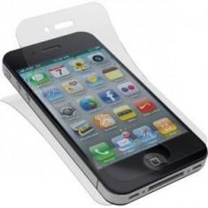 Folie protectie ecran + spate iPhone 4G