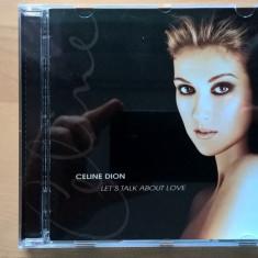 CD Celine Dion - Let's Talk About Love - Muzica Pop Columbia