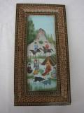 Raritate!!! Impresionanta pictura persana, Peisaje, Acrilic, Realism