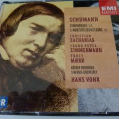 Schumann - hans vonk - 4cd - Muzica Clasica emi records