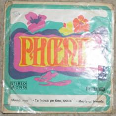 Vinyl single Phoenix , Edc 10.313, label mazgalit/disc VG - Muzica Rock, VINIL